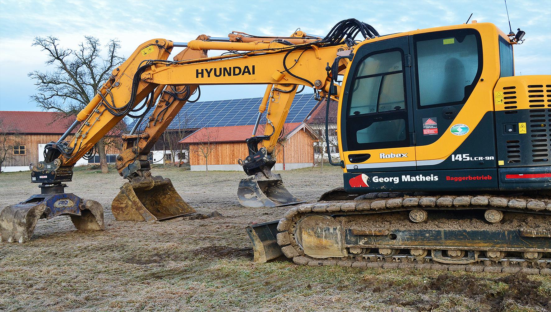 Kettenbagger Hyundai R145